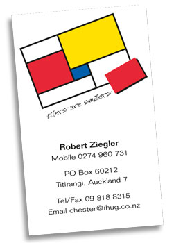 Tiling Business Card